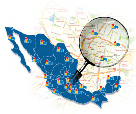 Mapa de Alfa México