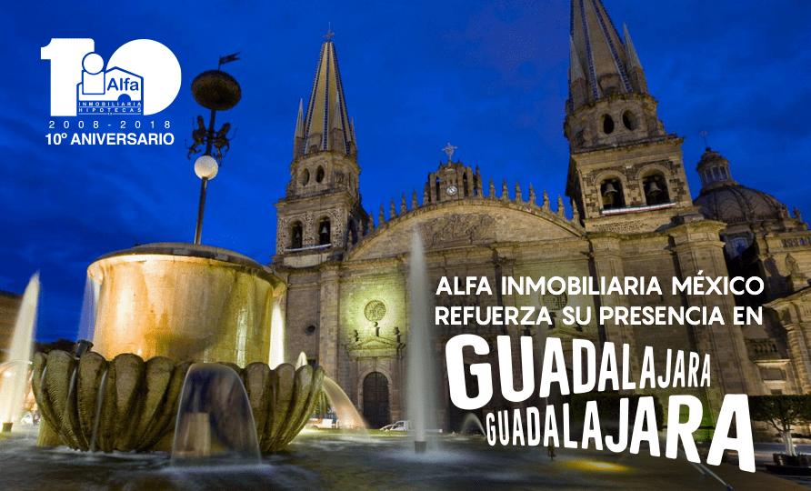 Alfa Inmobiliaria, fortalece su presencia en Guadalajara